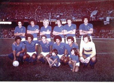 O Cruzeiro, Campeão. Cena comum nos anos 70