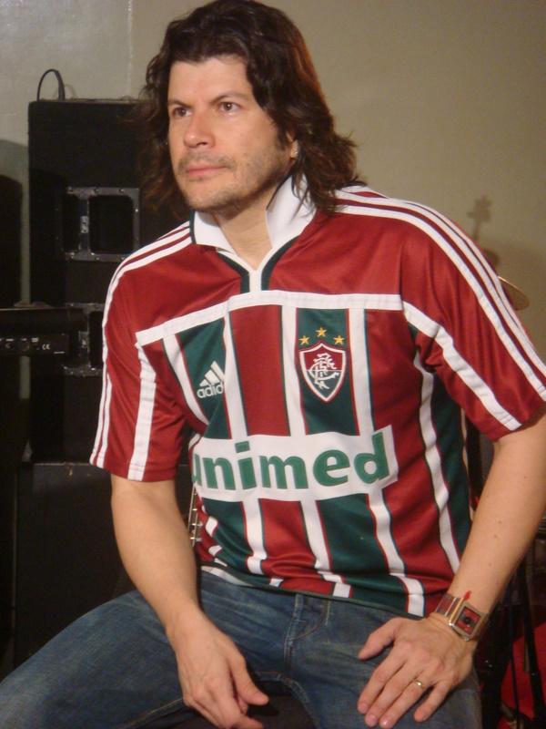 O tricolor Paulo Ricardo, do RPM