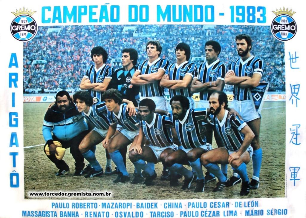 Grêmio Campeão Mundial 1983