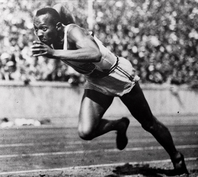 Jesse Owens, o primeiro negro a calar os alemães.