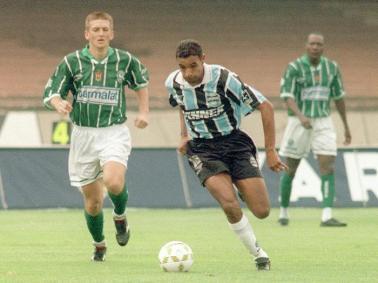 Palmeiras, Grêmio, Luxa e Scolari em 1996. Mais um capítulo com os quatro muitos anos depois. Doutor Destino é foda.